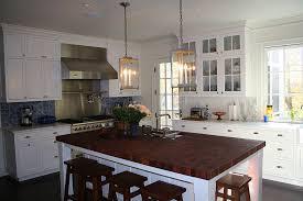 Kitchen Island Butcher White Kitchen Island With Butcher Block Top Visionexchange Co