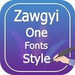 zawgyi one apk zawgyi one fonts style apk version 1 0