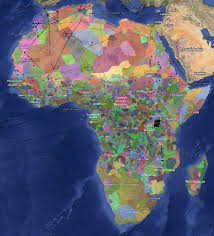Map Of Sub Saharan Africa A Fascinating Color Coded Map Of Africa U0027s Diversity Vox