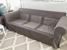 sofa how to cover a sofa with fabric surefit ultimate
