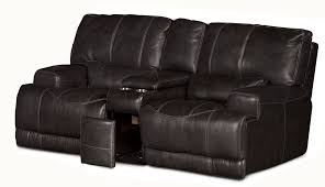 Grey Leather Reclining Sofa by Charcoal Gray Leather Match Power Reclining Sofa U0026 Loveseat