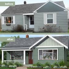 20 home exterior makeover before and after ideas home redo exterior of house soleilre com