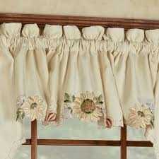 Yellow Kitchen Curtains Valances Decoration Kitchen Valance Lace Kitchen Curtains For Sale