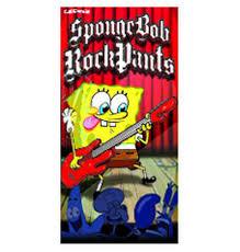spongebob beach towel spongebob rock pants beach towel
