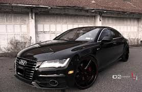 audi a7 modified white audi a7 black rims