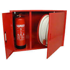 mild steel and stainless steel fire hose reel cabinet and