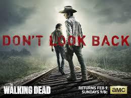 walking dead season 4 wallpaper with carl and rick movie
