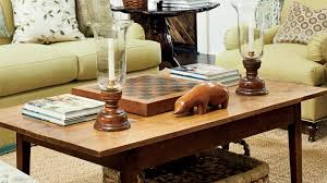How To Decorate Sofa Table Coffee Table Decorating Tips Southern Living Youtube