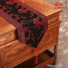home decor table runner patchwork cherry blossoms table runner dining table pads chinese