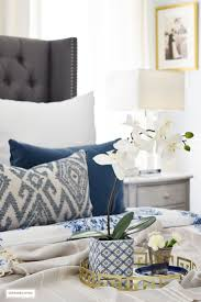 best 25 blue and white bedding ideas on pinterest blue bedding gorgeous blue and white bedroom featuring blue and white bedding paired with global inspired textiles
