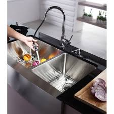 Double Apron Bathtub Kraus Khf203 36 Professional Stainless Steel Apron Front Double
