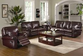 Brown Leather Recliner Sofa Set Santa Clara Furniture Store San Jose Furniture Store Sunnyvale
