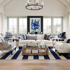 htons elegance in navy coastal style navy living rooms and