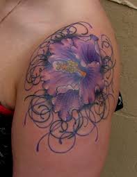 flower designs for shoulder best design