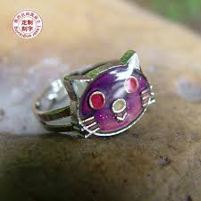 aliexpress mood rings images Magic cat mood ring temperature ring change color adjustable jpg