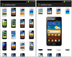 gridview android android gridview zoom images animation tutorial androidbegin