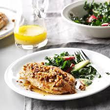 elegant dinner recipes honey pecan chicken recipe taste of home