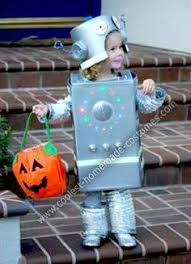 Kids Robot Halloween Costume Homemade Robot Kids Halloween Costume Halloween