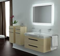 Bathroom Vanity Lighting Ideas Bathroom Mirrors Lights Behind Light Behind Mirror Houzz Classy