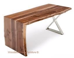 Modern Wood Desk Contemporary Wood Desk Modern Wood Desk Slab Desk