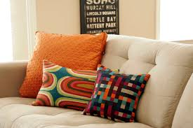 Orange Ikea Sofa by Bedroom Colorful Decorative Ikea Throw Pillows For Cozy Gray Sofa