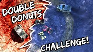 Romanatwoodvlogs Water Challenge Donuts Challenge