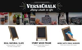 Decorative Chalkboard For Kitchen Amazon Com Rustic Kickstand Steel Chalkboard Sign 13