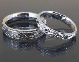 His And Her Wedding Rings by Vintage His And Hers Wedding Rings Etsy