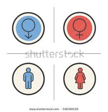 Man Woman Bathroom Symbol Man Woman Icon Stock Images Royalty Free Images U0026 Vectors
