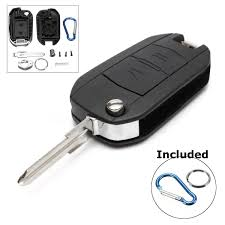 lexus f keychain 2 button remote key fob case shell keychain for vauxhall opel