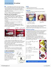verbe de cuisine les verbes d 2 en cuisine fichespédagogiques com