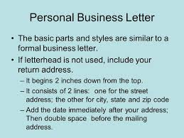 Business Letter Mailing Address Format Formatting Letters Full Block Business Letters All Parts Begin At