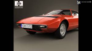 1975 maserati khamsin maserati khamsin 1977 3d model from creativecrash com youtube