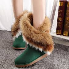 womens boots mid calf brown fashion shoes boots mid calf fur boots boots