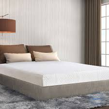 extra long twin mattress sleeplace 8 in cloud cool gel memory