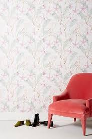 floral wallpaper modern floral wallpaper anthropologie