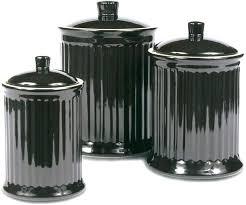black ceramic canister sets kitchen black canister sets for kitchen snaphaven