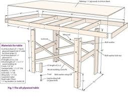 train table plans model train table plans assembly instructions materials and tools