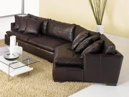 Leather Sofas Aberdeen Grain Leather Sofa Curved Black Fabrizio Design