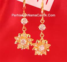 anting emas 24 karat online shop perhiasan murah jual berbagai macam perhiasan