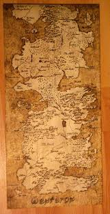 Map Westeros Map Of Westeros By Oll On Deviantart