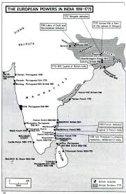 British India Map by History 219 Maps