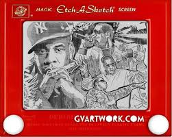 etch a sketch art by george vlosich