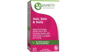 purelife naturals hair skin and nails supplement groupon