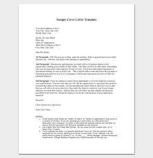 example of cover letter format best 25 examples of cover letters