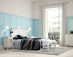 chambre bleu pastel chambre à coucher chambre ambiance joviale bleu pastel la déco