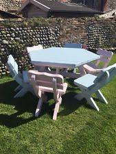 pine up to 6 seats garden patio furniture sets ebay