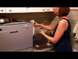 Countertop Dishwasher Faucet Adapter Edgestar Compact Dishwasher Demo Youtube