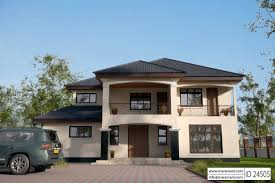 Single Storey Four Bedroom House Plan Simple Four Bedroom House Plans One Storey Bungalow Architectural