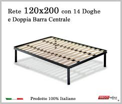 rete per materasso memory rete per materasso a 14 doghe in faggio vienna 120x200 con doppia